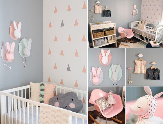 quartos decorados de bebe feminino