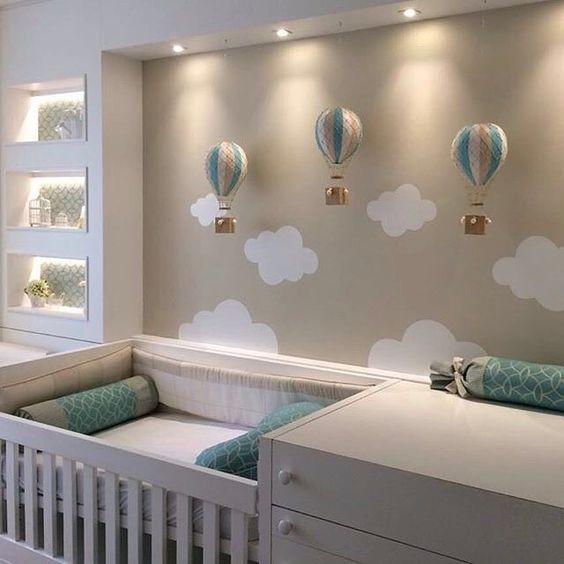 decoração de quarto de bebe pequeno