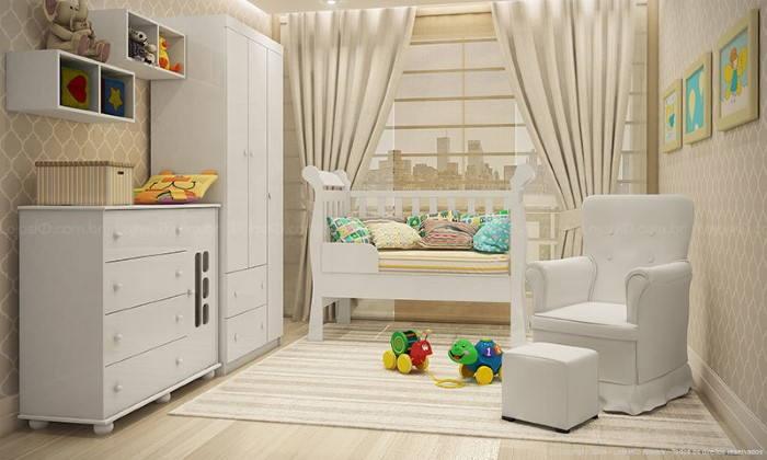 quarto do bebe com nichos