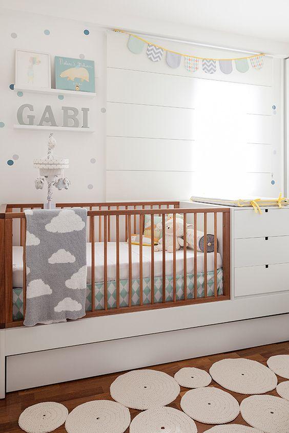 kit decoração quarto bebe