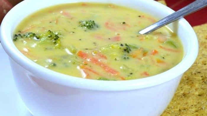 receita sopa para gravida