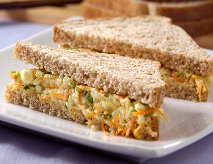 receita sanduíche natural grávida