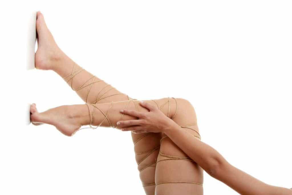 inchaço nas pernas