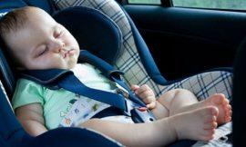 Bebê pode dormir na cadeirinha?