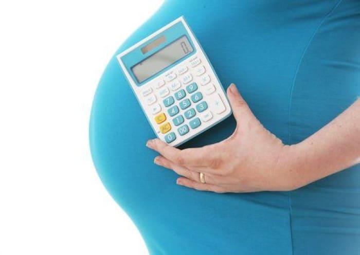despesas com o parto