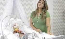 Kelly Key mostra a decoração do quarto do bebê