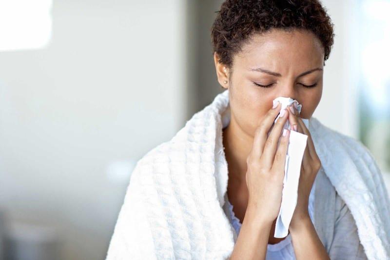 gripe e febre durante a gravidez