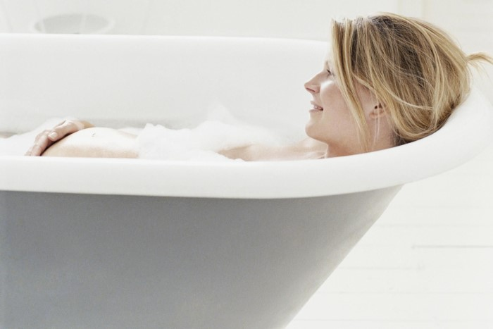 Pode tomar banho de banheira durante a gravidez?