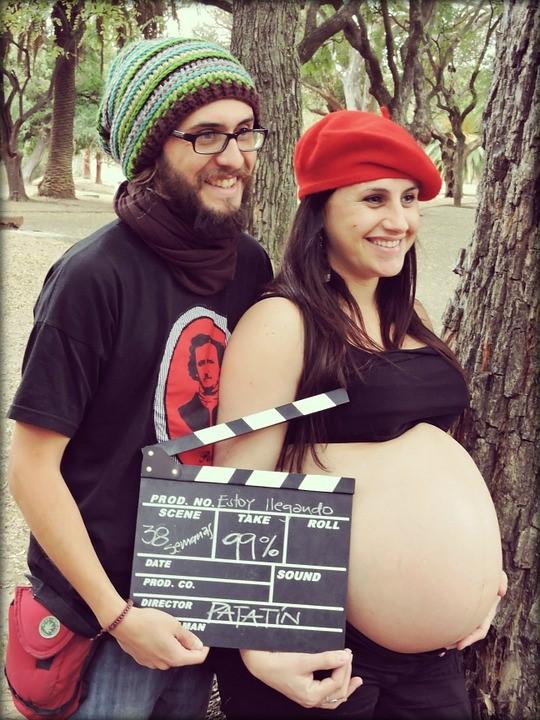 ideias de fotos gravidez