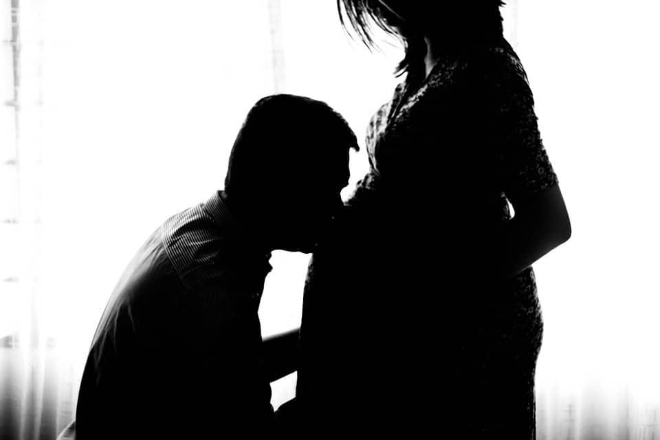 fotos criativas gravidez