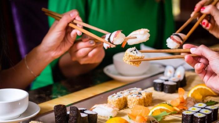 Sushis são proibidos na gestação