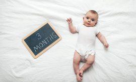 Bebê com 3 meses