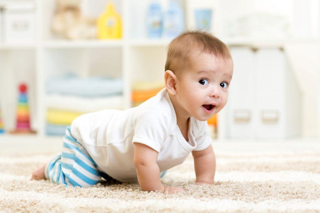 sono do bebe de 7 meses