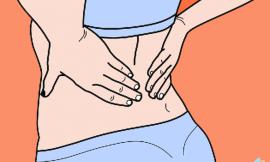 Dor lombar no início da gravidez , é normal?