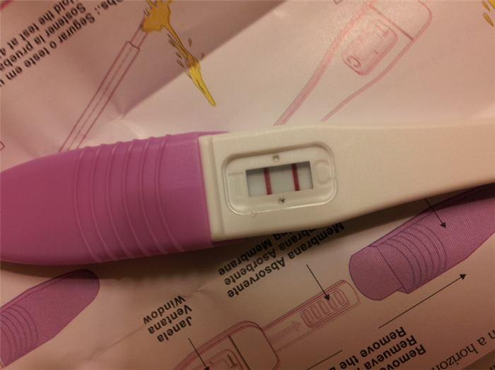 fotos de teste de gravidez positivo