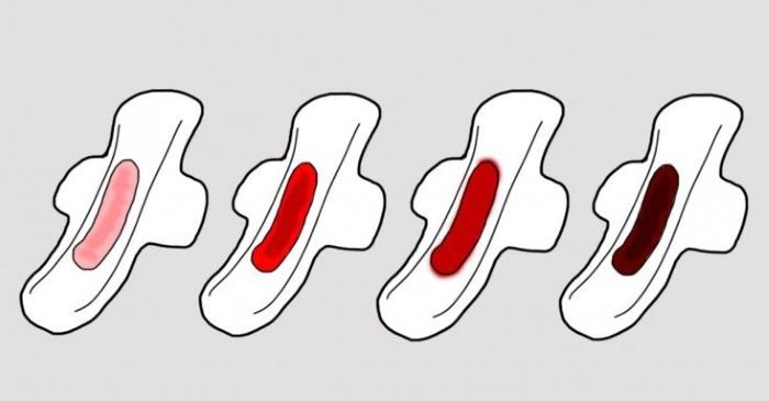 borra marrom antes da menstruação