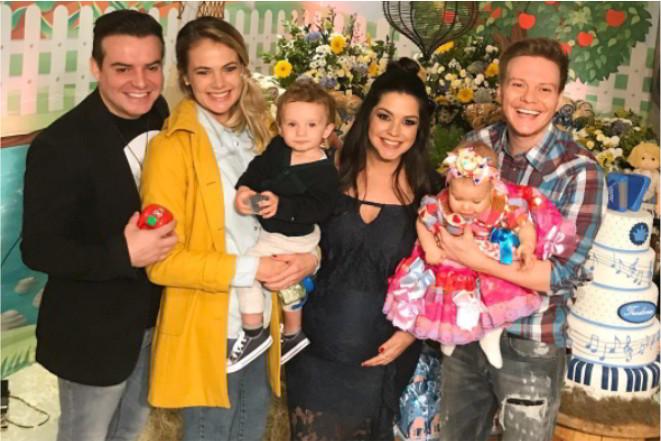 Read more about the article Thais Fersoza e Michel Teló fazem chá de bebê para Teodoro