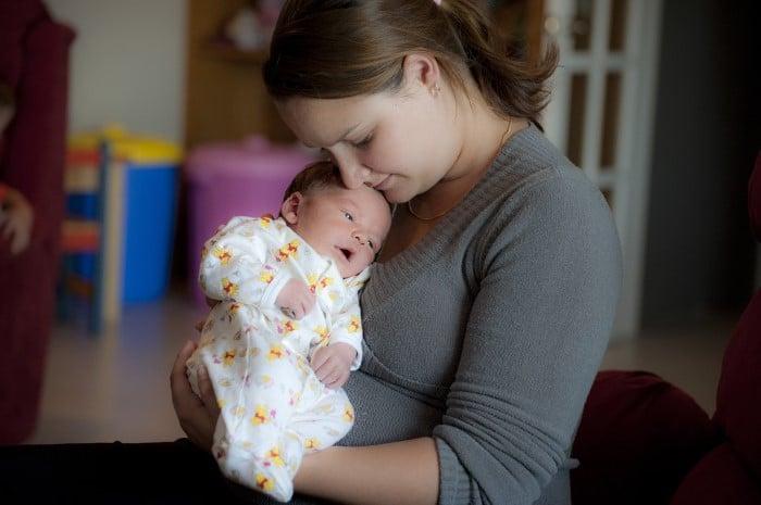 Primeira semana de um bebe
