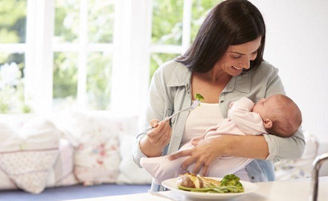 dieta pós parto mitos e verdades