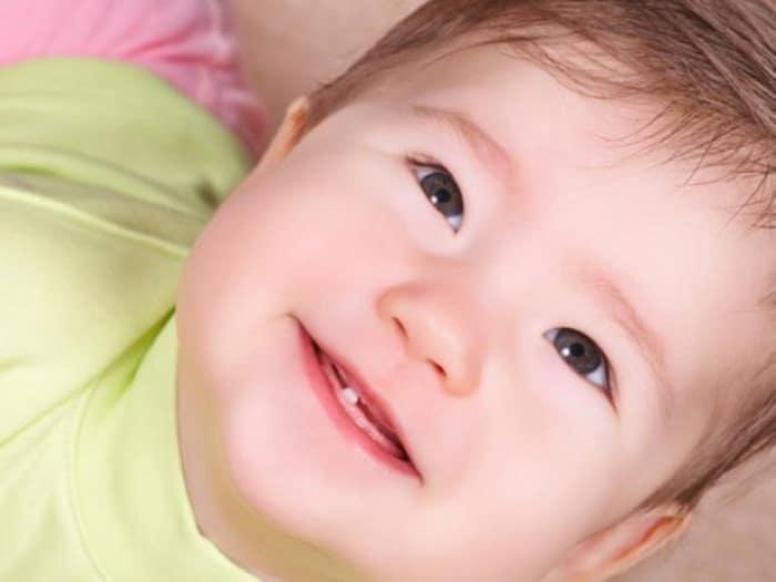 camomilina c bebê