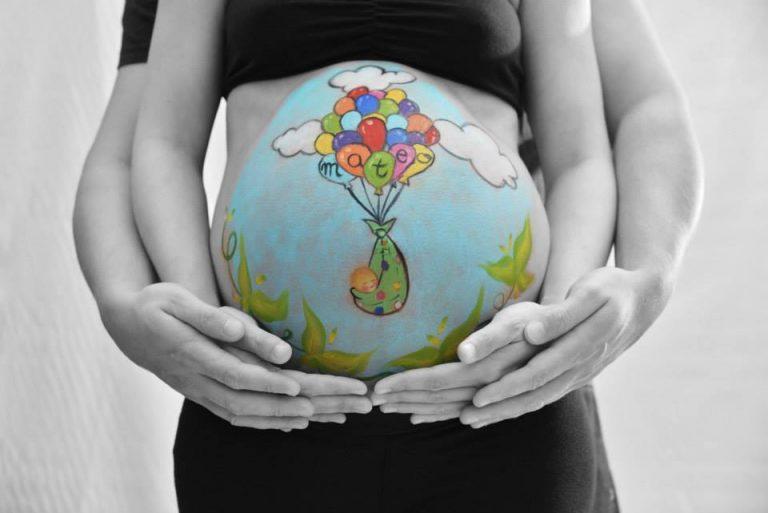 Read more about the article Desenho na barriga de grávida: 60 fotos criativas e inspiradoras!