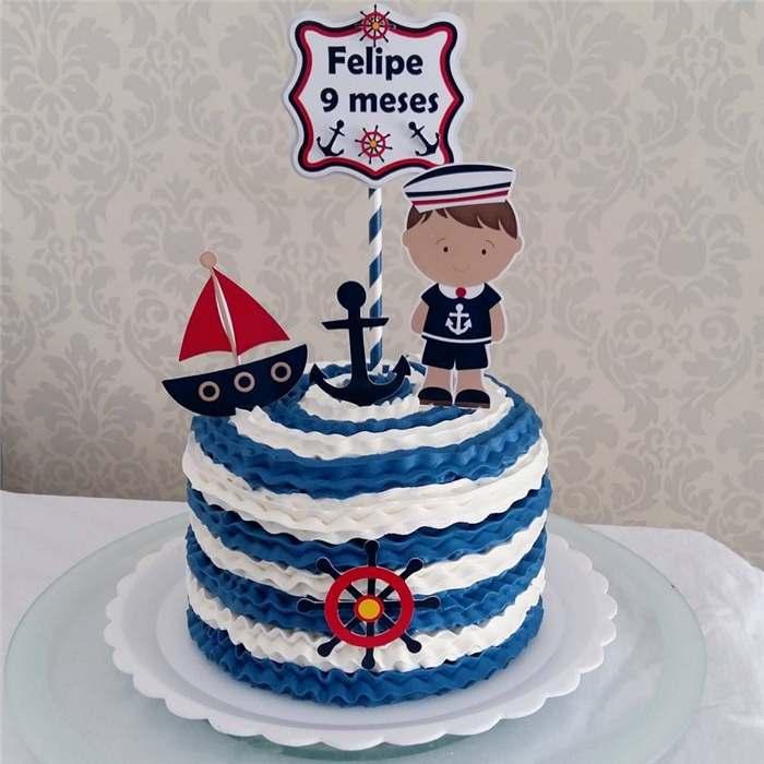 bolo para mesversario