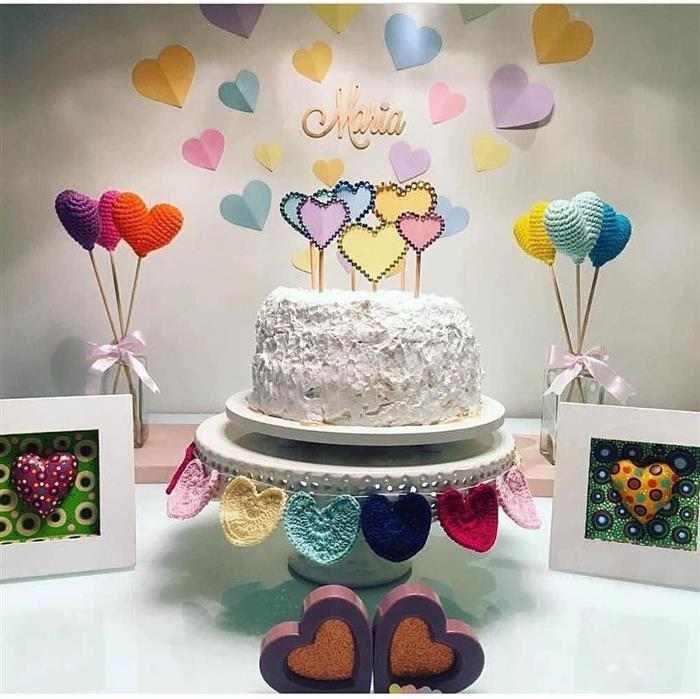 bolo de mesversario de glace