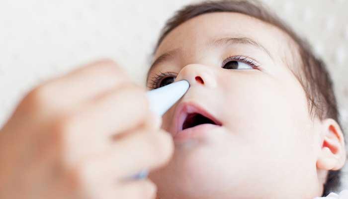 como desentupir o nariz do bebê de forma rápida