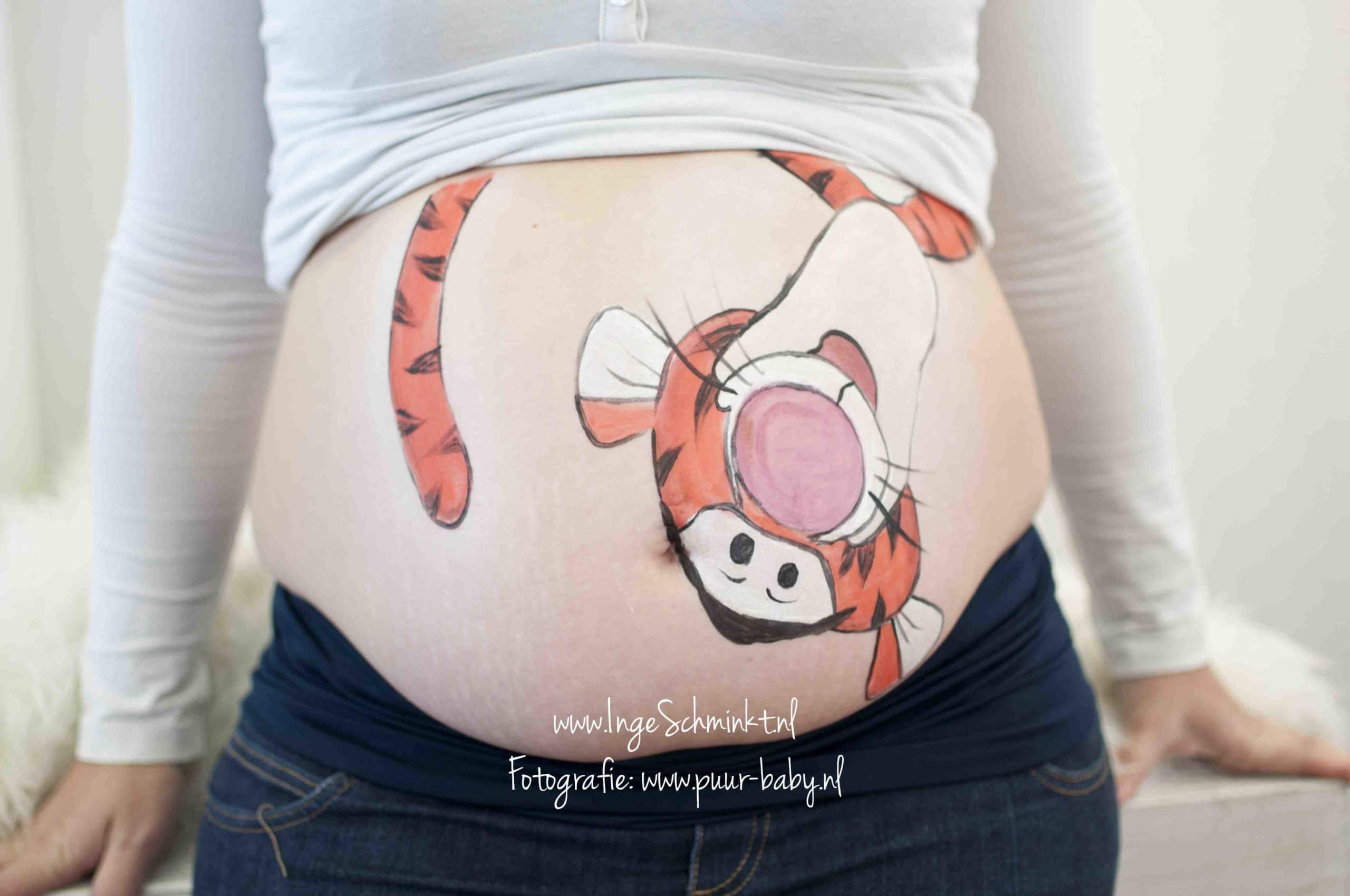 desenhos na barriga de gravida