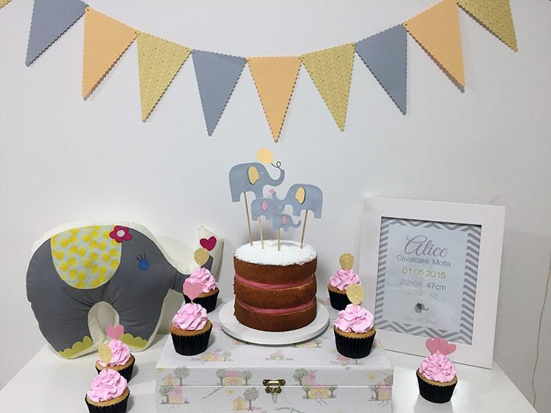 festa mesversario bebe