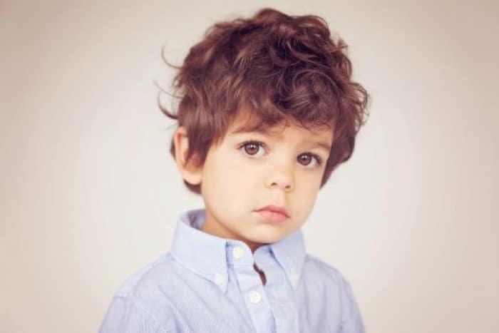corte de cabelo para bebe masculino