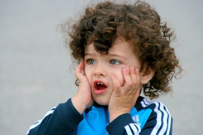 corte de cabelo de bebe