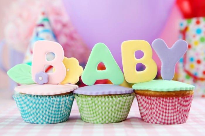 convite de chá de bebê em eva