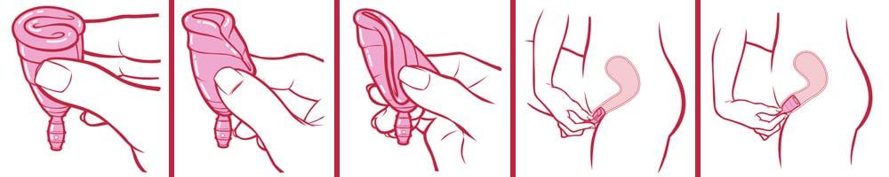 coletor menstrual tamanhos