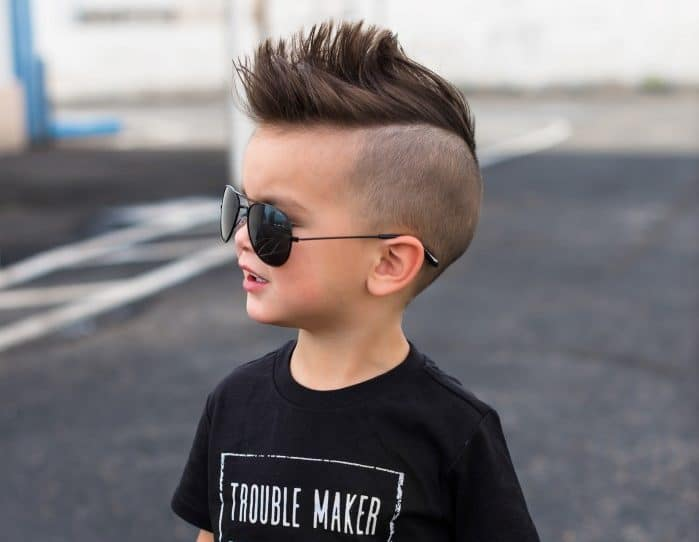 corte de cabelo infantil masculino cacheado