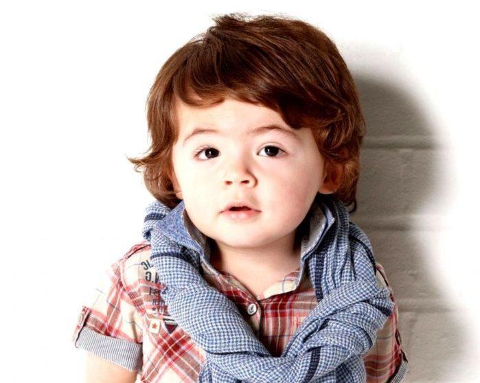 corte de cabelo de bebe masculino