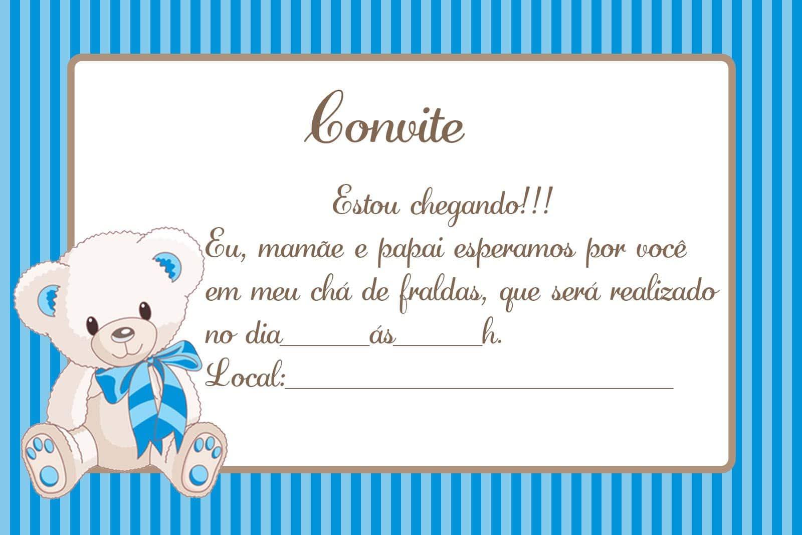 Frases Para Convite De Cha De Bebe Principe