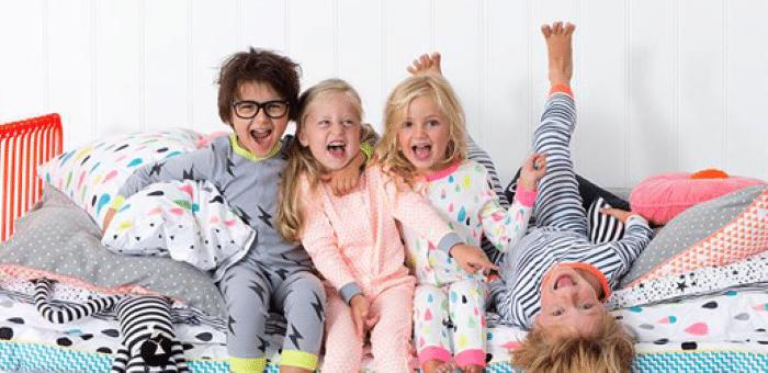 decoração para festa do pijama barata