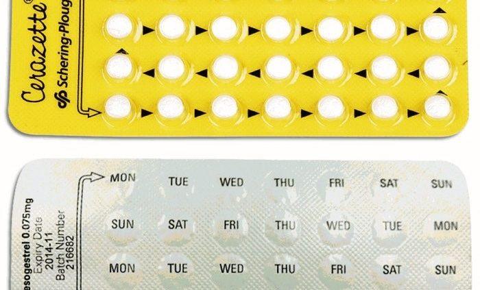 como tomar cerazette para não menstruar