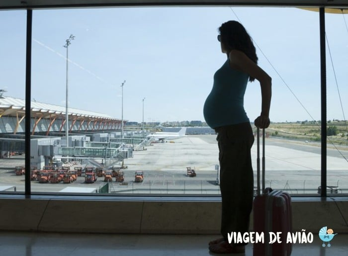 grávida pode viajar de avião nas primeiras semanas