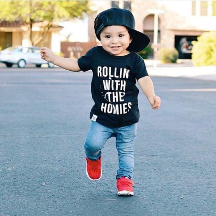 bebê com estilo