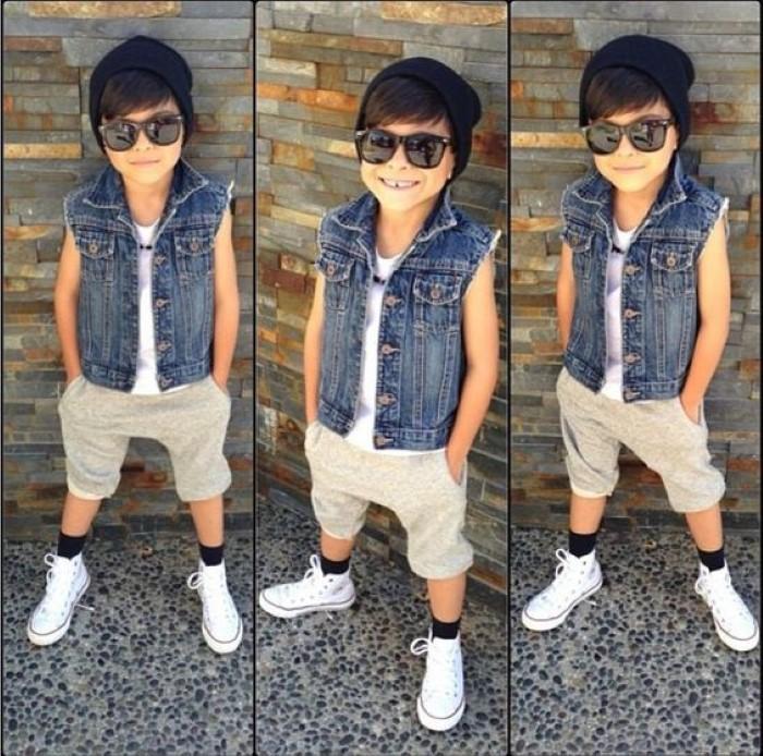 menino com estilo