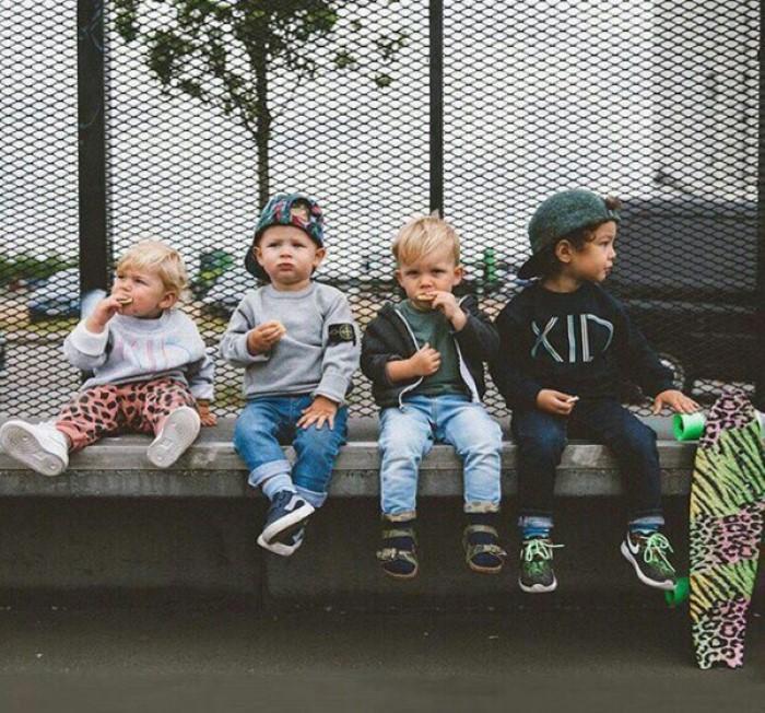 bebês estilosos instagram