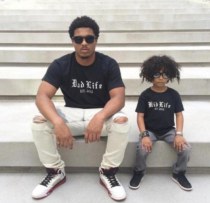 estilo de roupa pai e filho