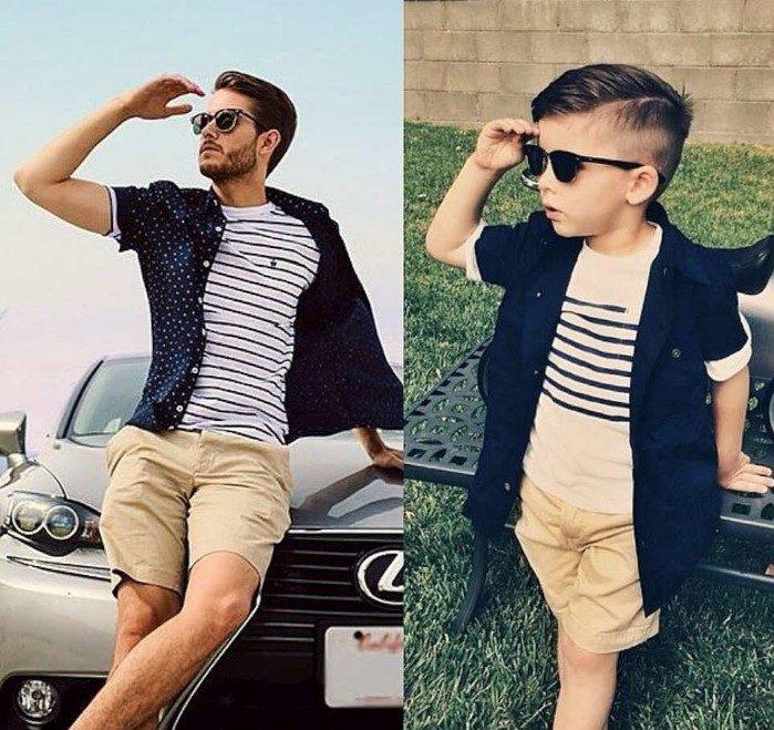 ideia roupa pai e filho