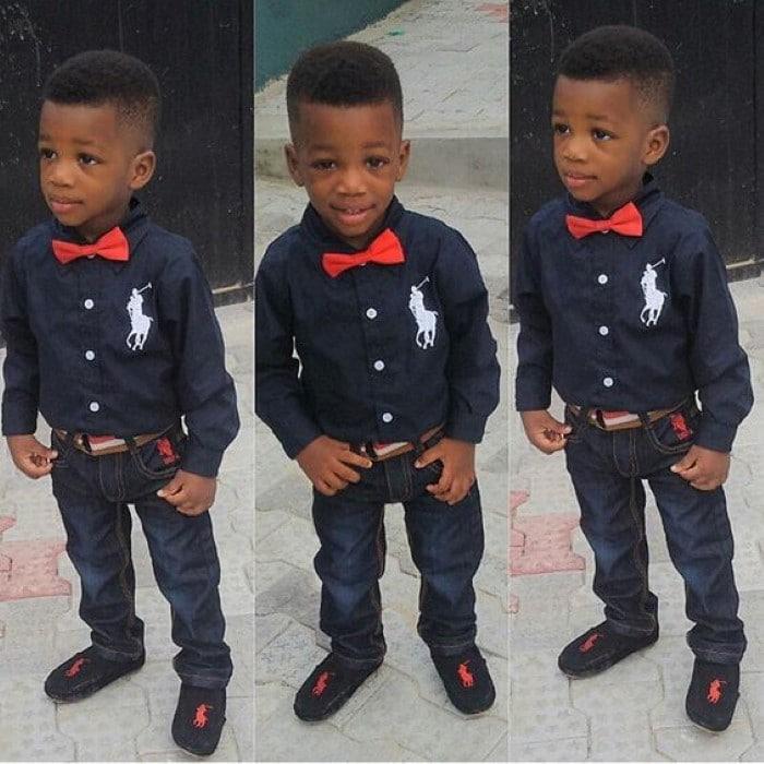 roupa chic menino
