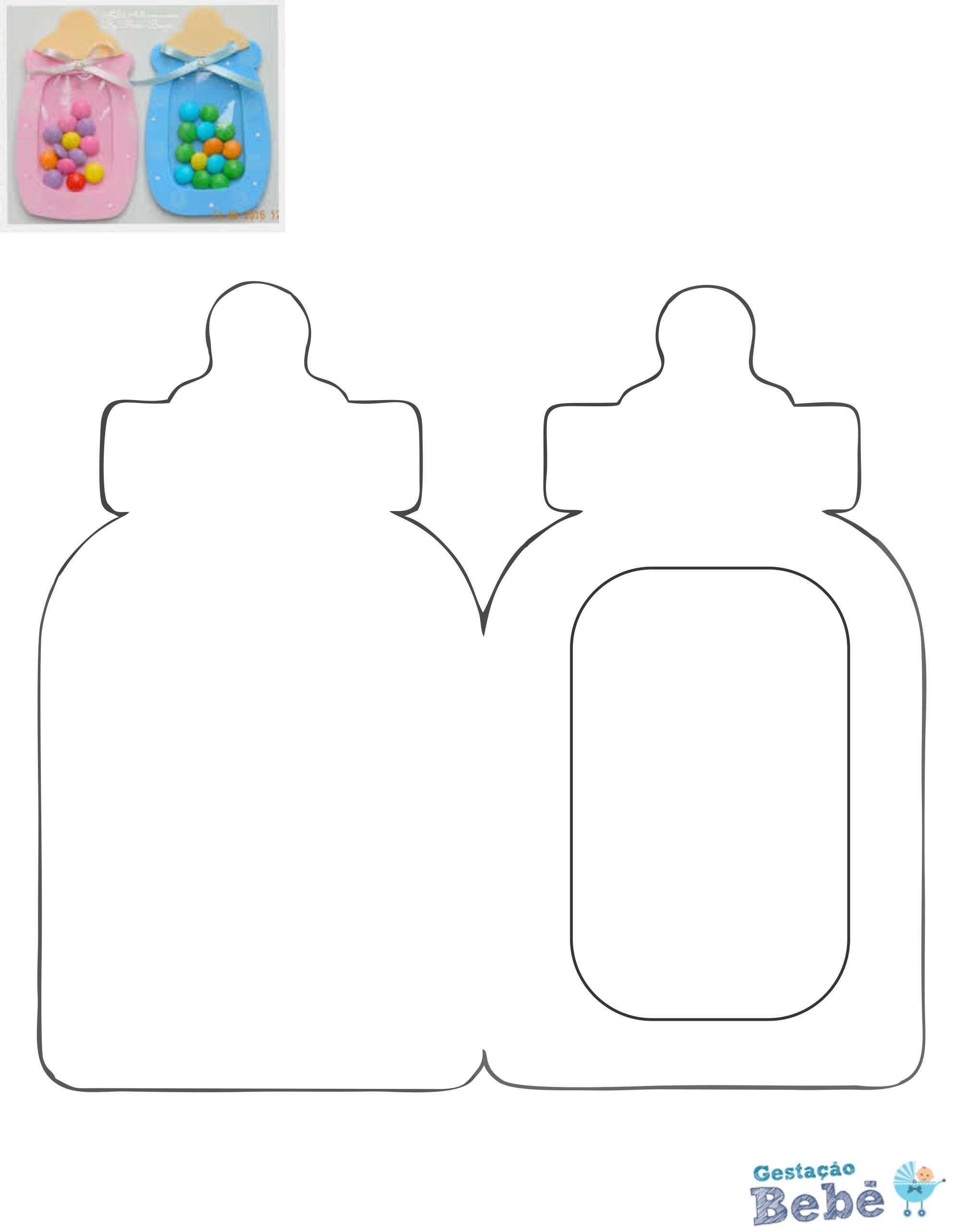 Sugestões simples e fáceis de brindes para chá de bebê