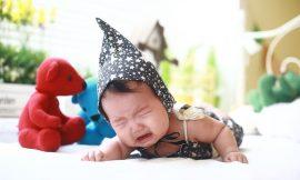 Bebê Chorando: choro alto, muito forte, antes de dormir ou dormindo