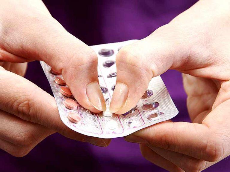 cartela de anticoncepcional