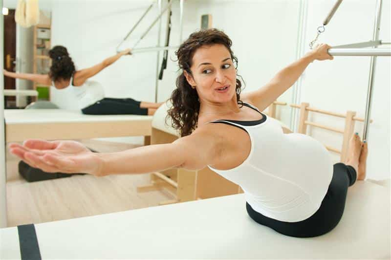 exercicios de pilates para gravidas